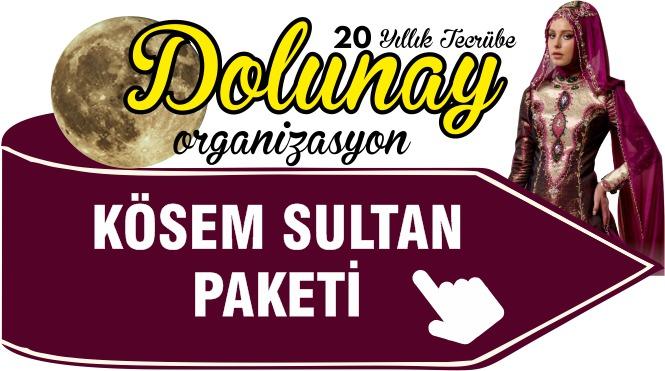 İslami Kına Organizasyonu Kösem Sultan Paketi