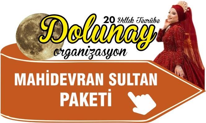 İslami Kına Organizasyonu Mahidevran Sultan Paketi