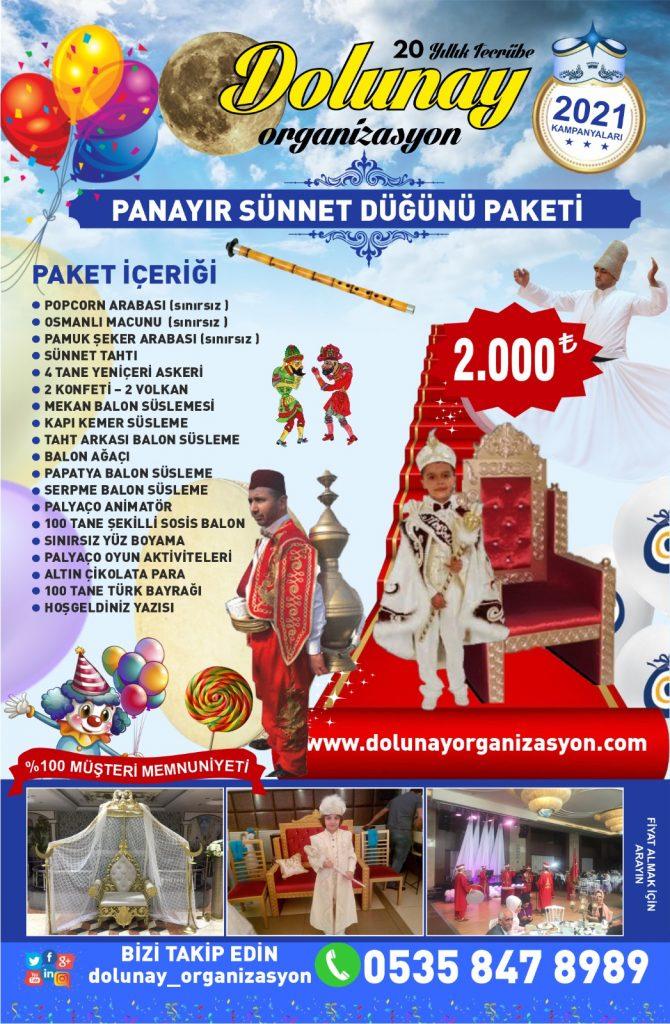 Sünnet Organizasyonu Panayır Sünnet Düğünü Paketi